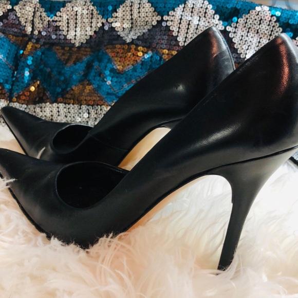 Charles David Shoes - Charles David Black Leather Pumps \ NORDSTROM